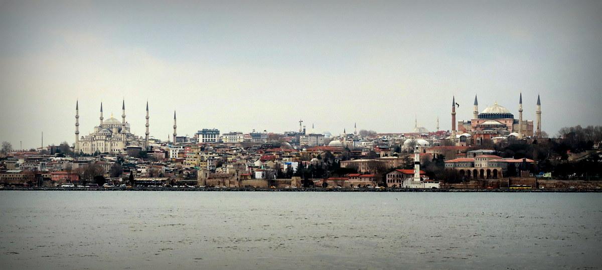 Как Стамбул был Константинополь