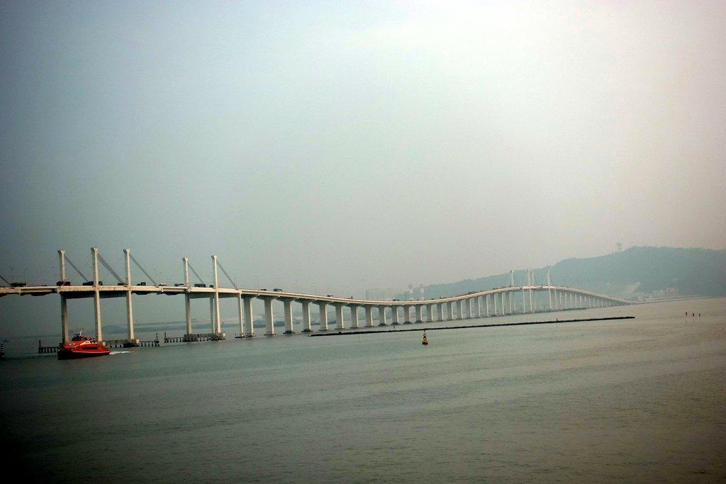 Китайцы строят новый мега-мост