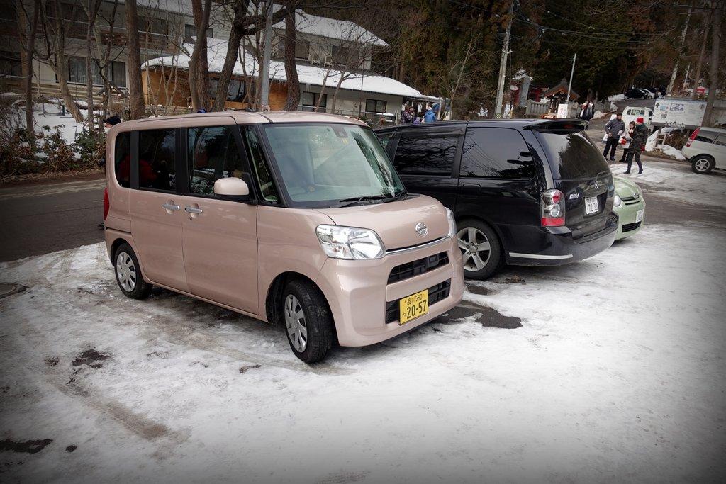 Своеобразные машинки Японии
