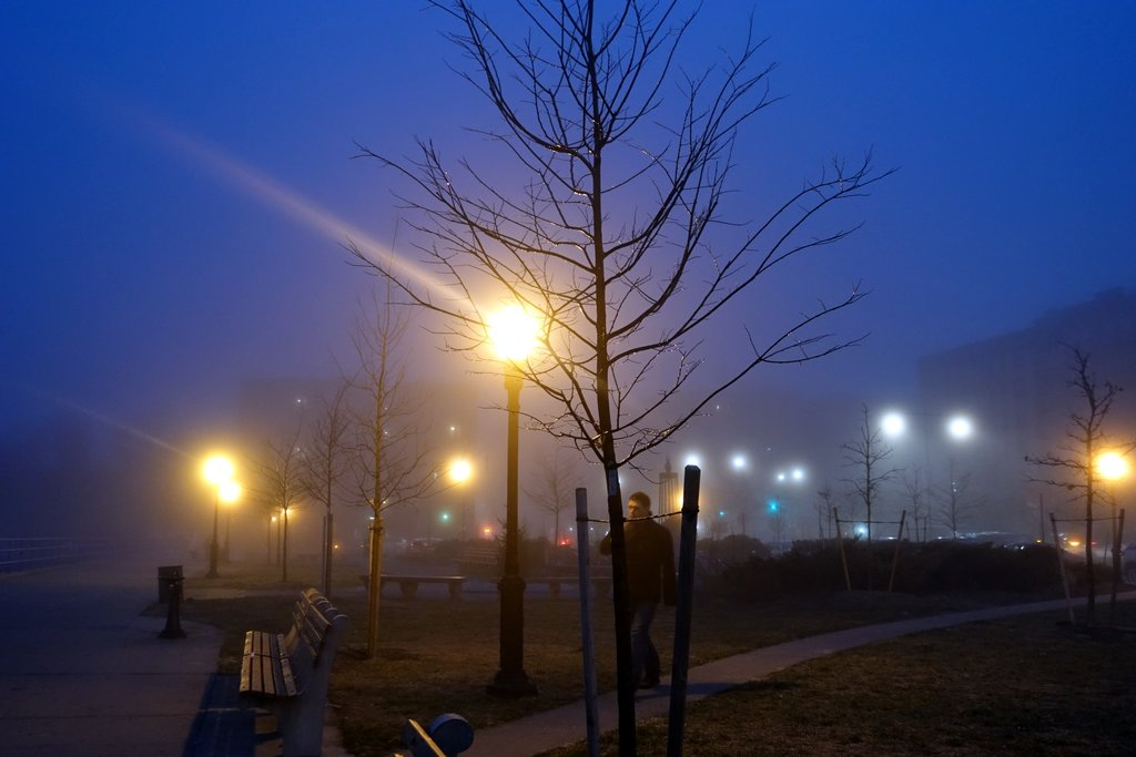 Туман в Бруклине