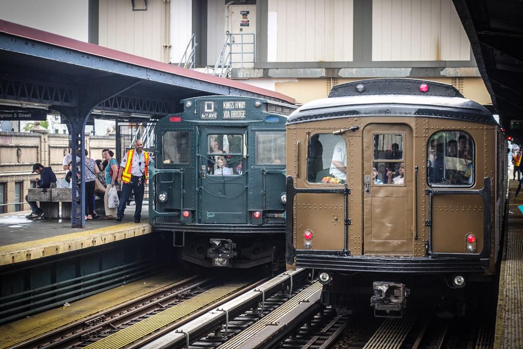 Нью  Йорк хвастается винтажным метро