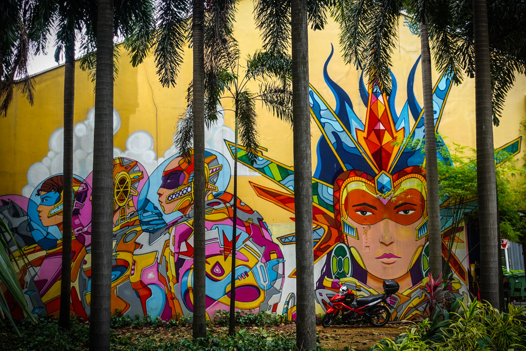Кампонг Глам - сингапурский район мусульман и стрит арта