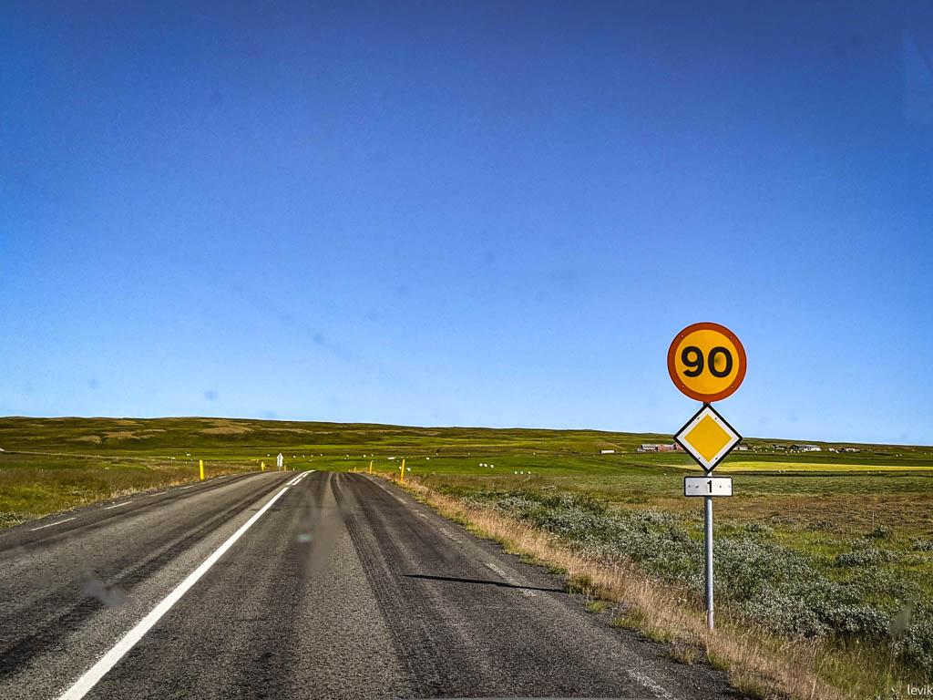 Исландия: штраф за быструю езду